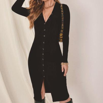 New Autumn And Winter Sexy Fashion Cardigan NSLIH63294
