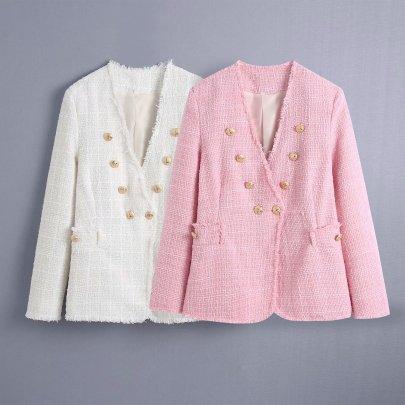 Wholesale Summer Woolen Coat NSAM63308