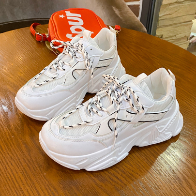 Lace-up Mesh Casual Simple Fashion Sneakers NSYUS63371