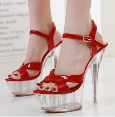 Summer New Crystal Heel Sexy Shoes NSSO60249
