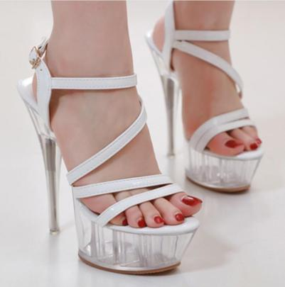 Summer New Crystal Heel Shoes NSSO60251