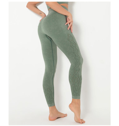 Seamless Hip-lifting Yoga Running Fitness Leggings NSLUT60537