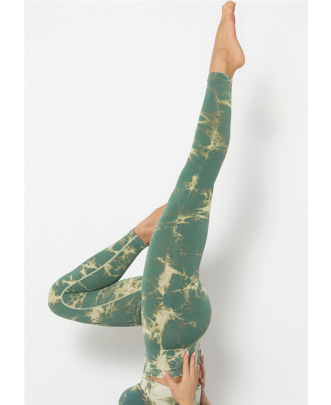 New Printed Tie-dye Fitness Seamless Leggings NSLUT60528
