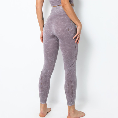 Fitness Yoga Tight-fitting New Seamless Hip-lifting Sexy Pants NSLUT60526
