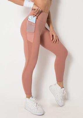 High Elastic Hip-lifting Sports Tights High Waist Yoga Pants NSLUT60523