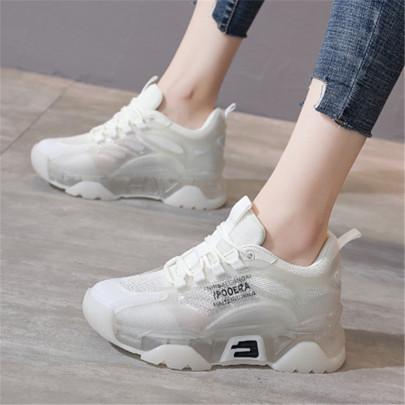 Casual Flat Lace-up Sneakers NSYUS63777