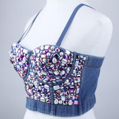 Beaded Crystal Decor Camisole NSQG63571