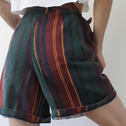 Spot New Striped Summer Casual Sports Shorts NSGJ64393