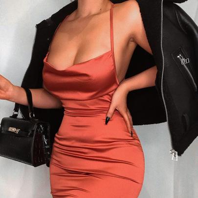 Summer New Style Fashion Suspender Skirt NSLJ64605