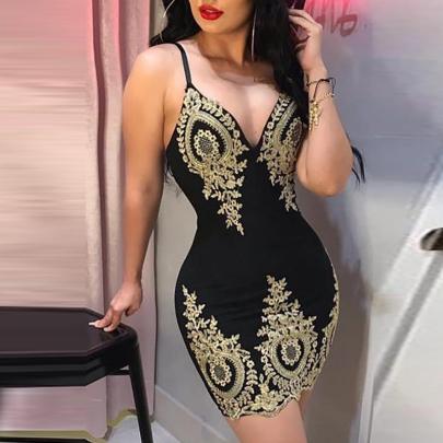 Summer Fashion Sexy Lace Sling Bag Hip Dress NSXIA65309