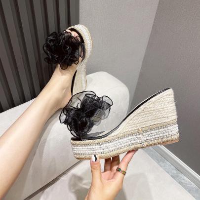 Transparent Super High-heel Sandals NSHU61125