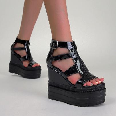 Thin Strap Platform Sandals NSSO61355