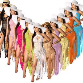 Weaving Two-wear Method Dress NSOSM65266