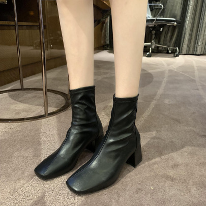 New Autumn And Winter Fashion Short Boots NSZSC65357