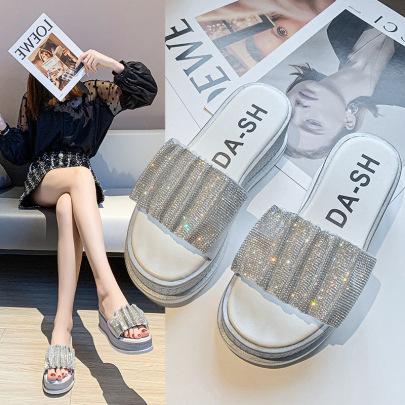 Rhinestone Outer Wear New Summer Fashion Shoes NSZSC65394