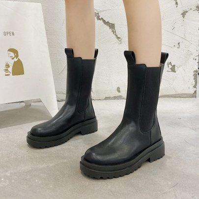 Spring New Retro British Short Boots NSZSC65397