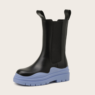 Spring And Autumn New Mid-tube Boots NSCA65444