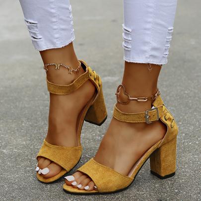 Nihaostyle Clothing Wholesale High-heeled Sandals NSYUS67189