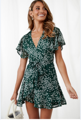 nihaostyle clothing wholesale Summer Printed Dress NSOUY67384