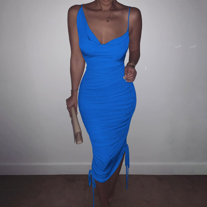 Nihaostyle Clothing Wholesale Sexy Women's Sling Dress NSHTL67338