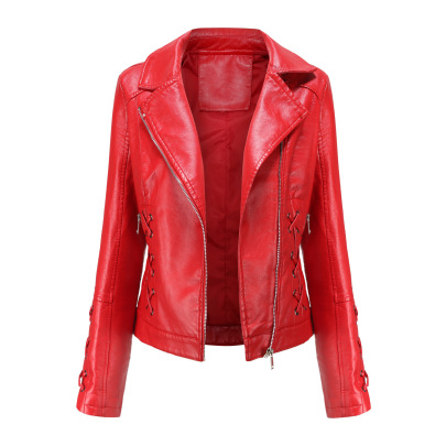 Wholesale Women's Clothing Nihaostyles  Woven Leather Jacket   NSNXH67417