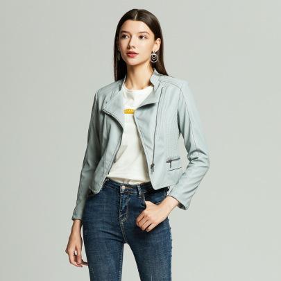 Wholesale Women's Clothing Nihaostyles PU Leather Jackets  NSNXH67425
