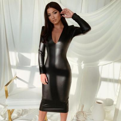 Nihaostyle Clothing Wholesale Spring Fashion Long-sleeved Dress NSHTL67548