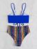 Printed split beach bikini wholesale women's clothing Nihaostyles NSLUT67761