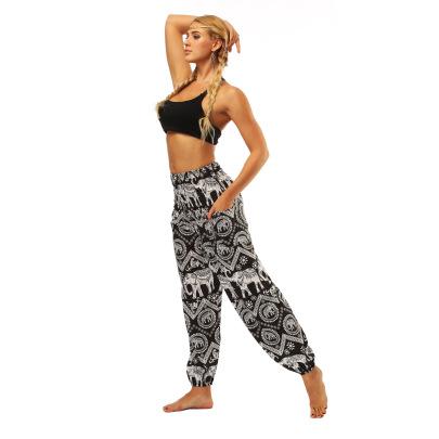 Printing Loose Women's Sports Pants Nihaostyle Clothing Wholesale NSMDF67656