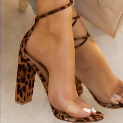 Open Toe Cross Strap High Hees Wholesale Women's Clothing Nihaostyles NSJJX67789