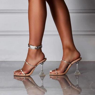 Rhinestone Stiletto High Heels Wholesale Women's Clothing Nihaostyles NSHYR67907