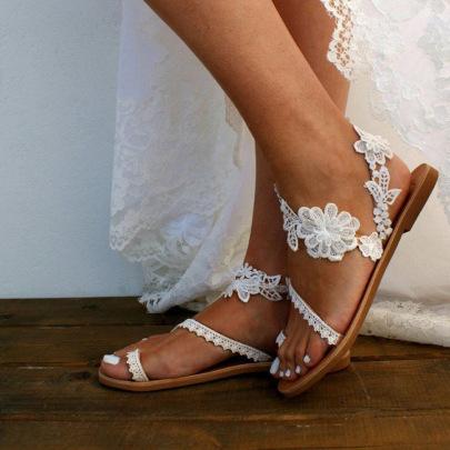 Flat Flower Bohemian Sandals Wholesale Women's Clothing Nihaostyles NSHYR67913