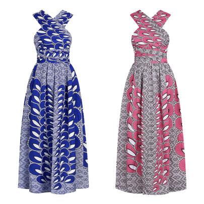 Printing Women's Strap Dresses Nihaostyle Clothing Wholesale NSMDF67957