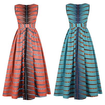 Printing Women's Fashion Beautiful Back Dress Nihaostyle Clothing Wholesale NSMDF67958