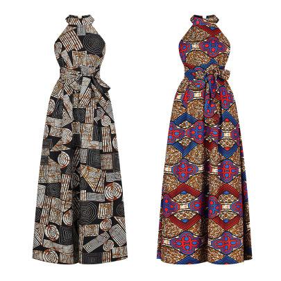 Women's Halter Neck Zipper Dress Nihaostyle Clothing Wholesale NSMDF67960