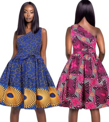 Printing Women's Sleeveless Dress Nihaostyle Clothing Wholesale NSMDF67959