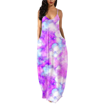 Summer New Style Women's Sling Long Skirt Nihaostyle Clothing Wholesale NSOUY68006