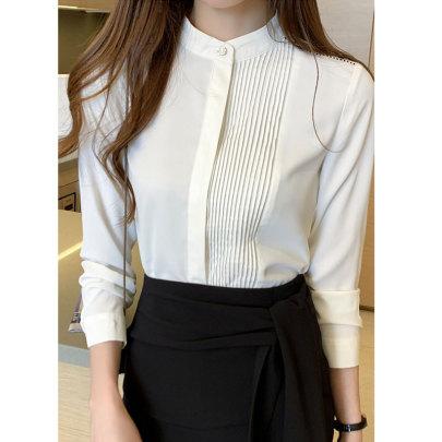 Women's New Spring Long-sleeved Shirt Nihaostyle Clothing Wholesale NSJIM67989