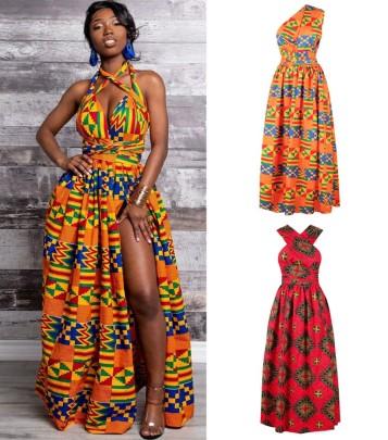 Printing Irregular Large Size Mid-length Dress Nihaostyle Clothing Wholesale NSMDF67625