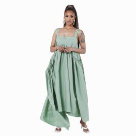 Solid Color Maternity Dress Wholesale Clothing Vendor Nihaostyles NSXHX68145