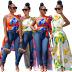 trend printing shirt irregular long slanting shoulder casual dress wholesale clothing vendor Nihaostyles NSMFF68239