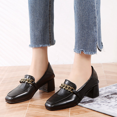 High Heels Thick Heel Casual Shoes Nihaostyle Clothing Wholesale NSZSC68282