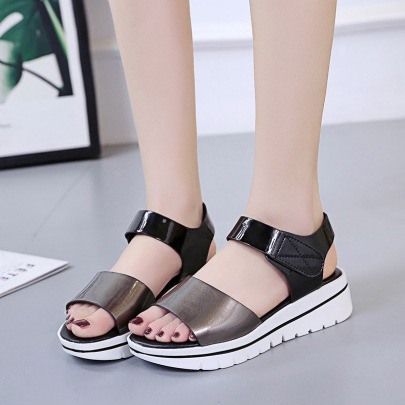 Casual Slope With Thick-soled Women's Shoes Nihaostyle Clothing Wholesale NSZSC68289