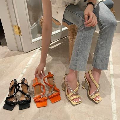 Nihaostyle Clothing Wholesale Summer New Style Roman Shoes NSHU65517