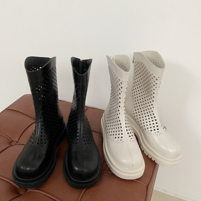 Nihaostyle Clothing Wholesale Summer Thin New Mesh Hollow Boots NSHU65518
