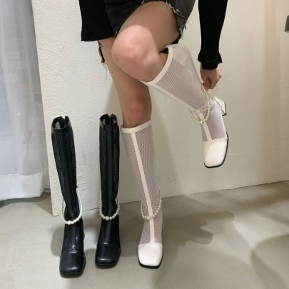 Nihaostyle Clothing Wholesale Breathable Summer Hollow Boots NSHU65548