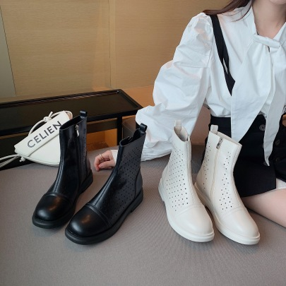 Nihaostyle Clothing Wholesale Summer Thin New Hollow Boots NSHU65552