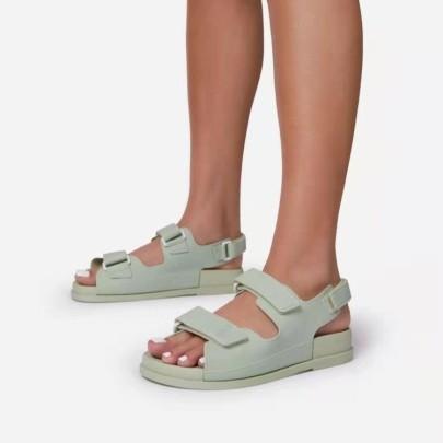 Thick Bottom Velcro Roman Sandals Wholesale Women's Clothing Nihaostyles NSHYR68365