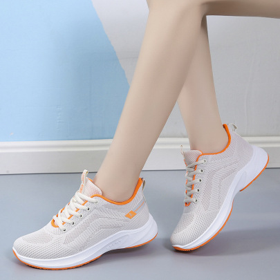 Lightweight Mesh Breathable Sports Shoes Wholesale Women's Clothing Nihaostyles NSSC68368