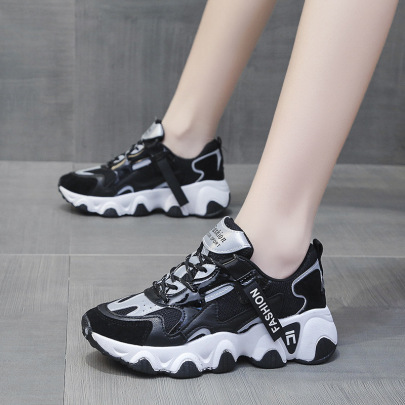 Increased Thick-soled Breathable Sports Shoes Wholesale Women's Clothing Nihaostyles NSSC68373